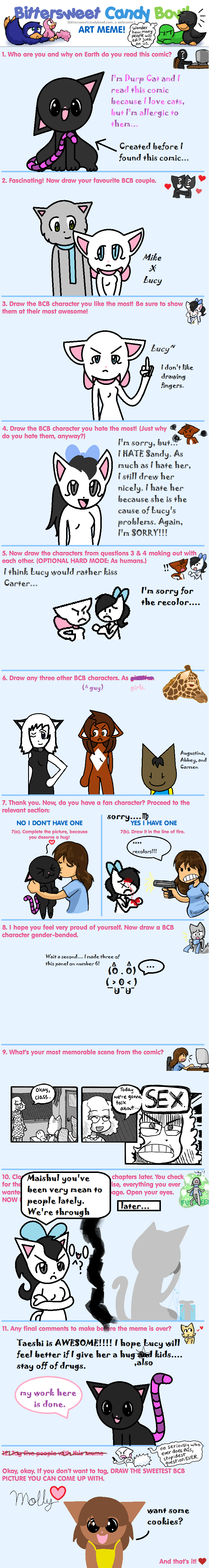 Candybooru image #5996, tagged with Abbey Augustus BCB_Art_Meme Carter DurpCat_(Artist) MikexLucy Molly Sandy